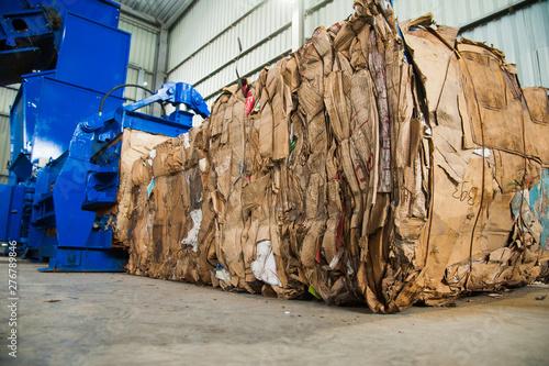 Waste recycling factory Tapéta, Fotótapéta