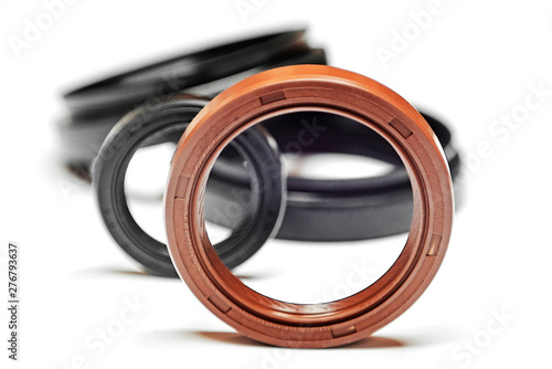 Fotografía Oil seal with shallow depth of field