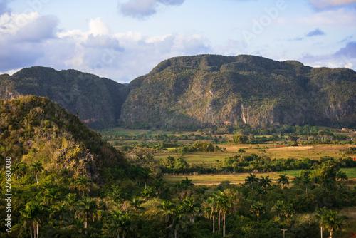 Photo landscape in vinales