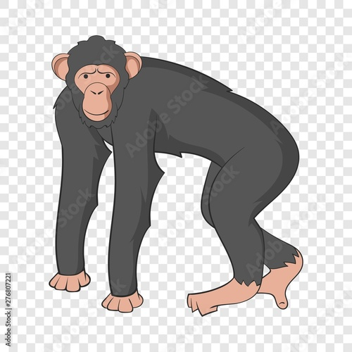 Leinwand Poster Chimpanzee icon