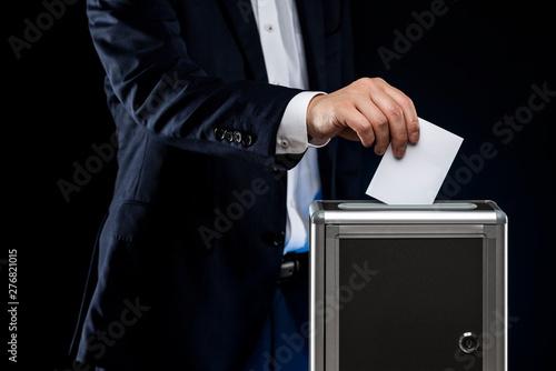 選挙イメージ 黒背景 Tapéta, Fotótapéta