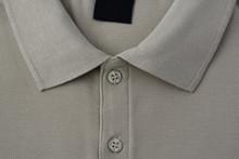 Light Brown Polo T-shirt.