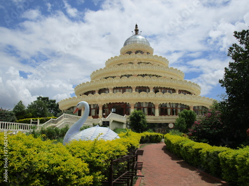 Photo Vishalakshi Mantap Art Of Living International Center Bengaluru India