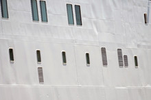 Portholes In The White Hull Of...