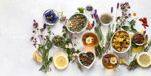 Various Kinds Of Herbal Tea