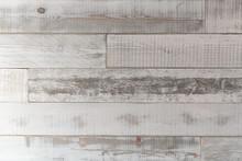 Reclaimed White Wood Background