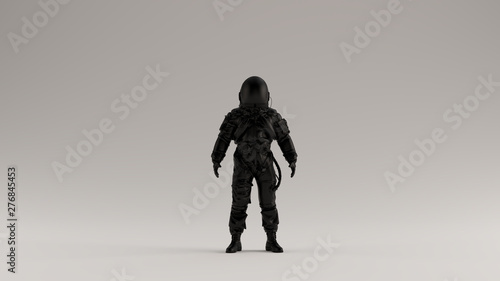Fotografie, Obraz  Black Astronaut Advanced Crew Escape Suit 3d illustration 3d render