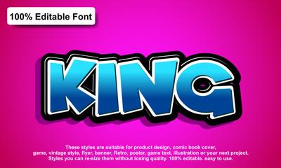 editable font, font effect style