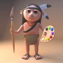 Artistic Native American India...