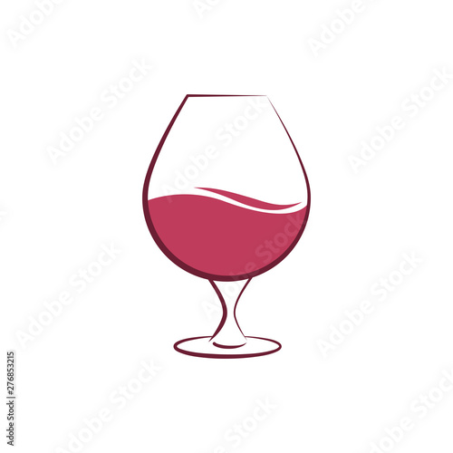 Fotografía  Wine glass icon