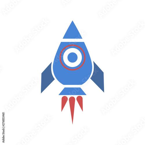 Fotografie, Obraz  Rocket icon