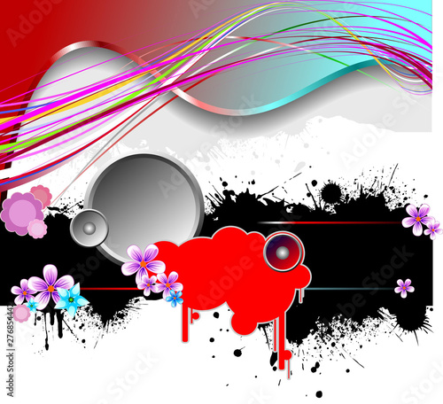 Grunge abstract background....