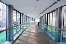 Hallway Between Buildings With...