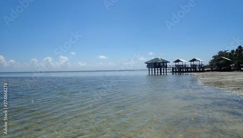 In de dag Inspirerende boodschap Philippines Palawan Islad Kanigaran Beach