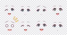Emotions Blue Eyes Of Anime Ma...