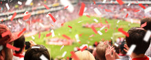 Fans Im Stadion   XXL Ultra Panorama