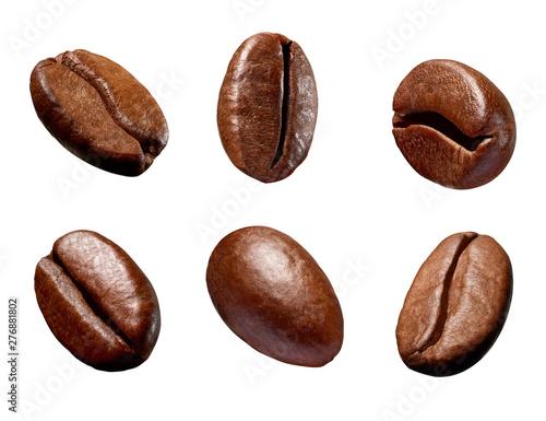 Slika na platnu coffee bean brown roasted caffeine espresso seed