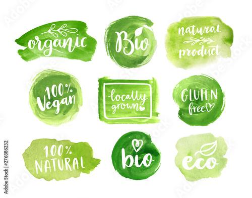 Photo Eco, organic food labels