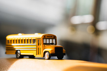 Miniature Yellow School Bus Wi...