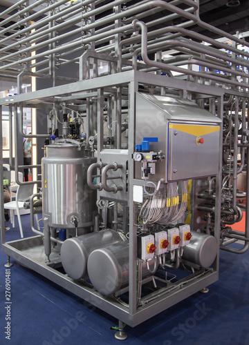 Canvastavla  Tubular Aseptic UHT Pasteurizer with Vacuum Deaerator