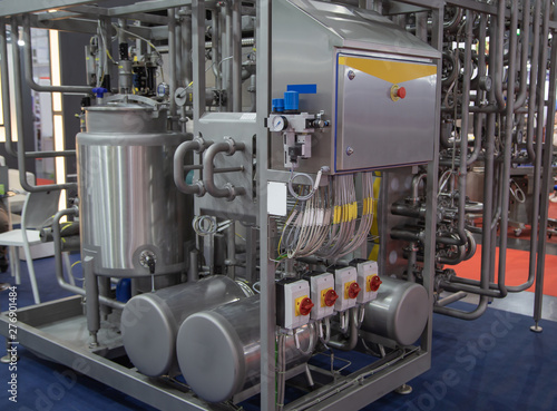 Fotomural Tubular Aseptic UHT Pasteurizer with Vacuum Deaerator