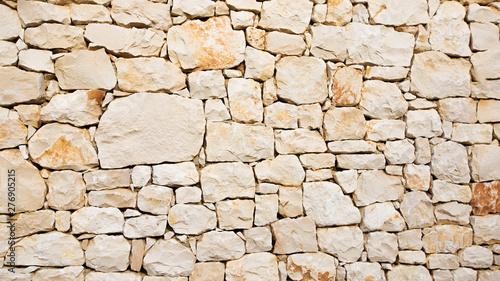Photographie mur en pierres sèches