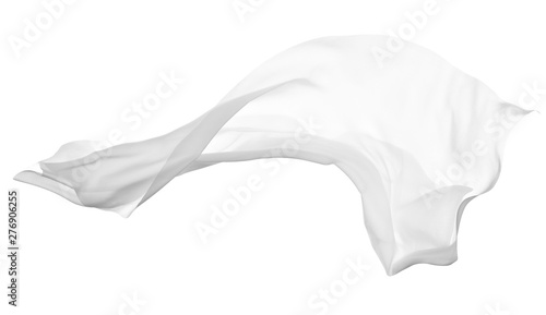 white cloth fabric textile wind Fototapete