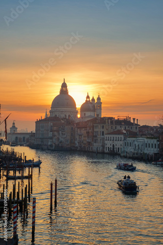 Poster Venice View of the Grand Canal