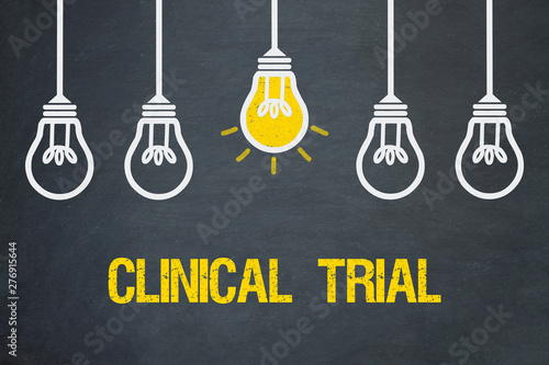 Clinical Trial Fototapete