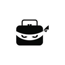 Ninja Logo Stock Image