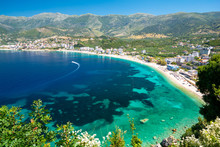 Beautiful View On Himare On Al...