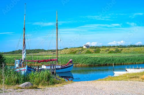 Fotografie, Obraz Jutland ancient architectures and wild landscapes