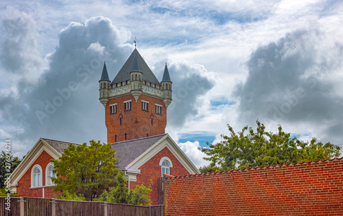 Fotomural Jutland ancient architectures and wild landscapes