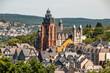 canvas print picture - Dom zu Wetzlar an der Lahn, Deutschland