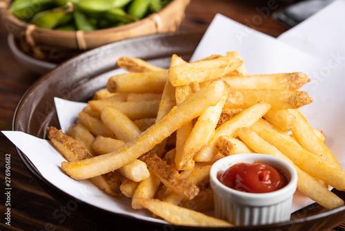 Fotografie, Tablou japanese izakaya style french fries