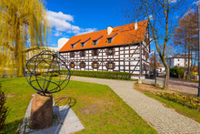 Bydgoszcz, Poland - White Granary Housing The Archeological Museum, On The Mill Island In The Historic Old Town Quarter