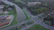 Drone Aerial Of New Orleans Ba...