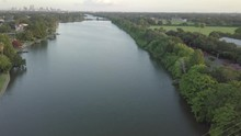 Cinematic Aerial Of Bayou St J...