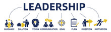 Leadership Concept Web Banner ...