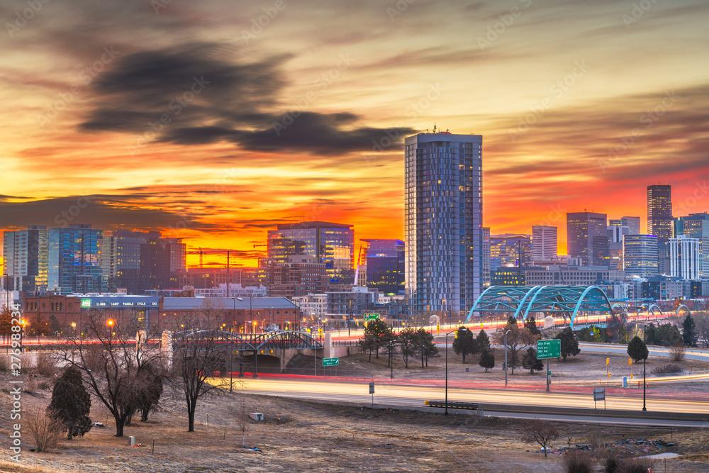 Fototapety, obrazy: Denver, Colorado, USA