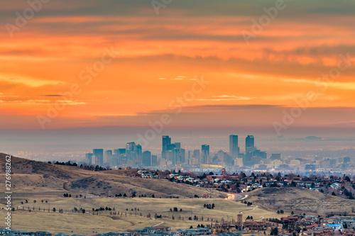 Fotografie, Obraz  Denver, Colorado, USA downtown