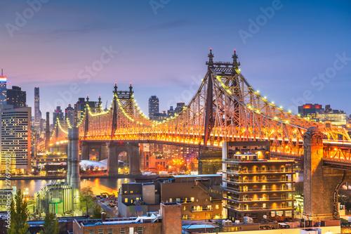 Recess Fitting New York New York City with Queensboro Bridge