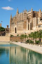 The Cathedral Of Santa Maria Of Palma De Mallorca, Spain