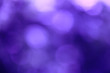 canvas print picture - blur Purple abstract background with bokeh