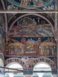 canvas print picture - Wandmalerei - Kloster Hurezi