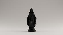 Black Virgin Mary Mother Of Jesus Statue 3d Illustration 3d Render