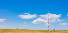 Cell Phone Tower In The Countryside Of South Africa