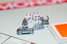 Monopoly Game. Chips Cubes, Mo...
