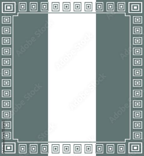 Fototapeta  frame, pattern, vector obraz na płótnie