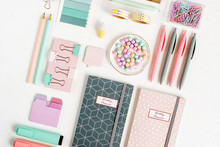 School Supplies. Stylish Stati...